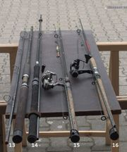 Angeln Teichfischen Forellenruten