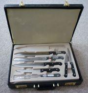 Solingen Küchenmesser Steakbesteck Messerset Pearl