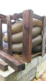 Flexible Absaugschlaeuche 250 9000 mm