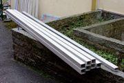 Aluminium Alu Vierkantrohr 60 x