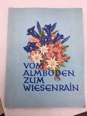 Buch Vom Almboden zum Wiesenrain