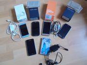3 Samsung Galaxy Smartphones mit