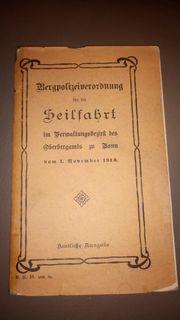 Seilfahrt von 1913