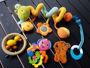 Baby-Spielset - Babyschalen-Schlange Rasseln Beißring