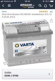 Varta Silver Dynamic Autobatterie- Neu