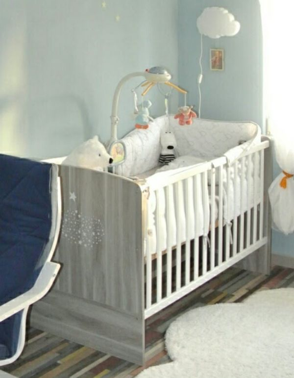 Kinder Zimmer - Bett Wickelkommode