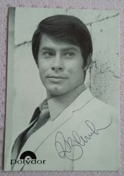 Roy Black Original-Autogrammkarte von1968