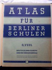 Atlas für Berliner Schulen 50er