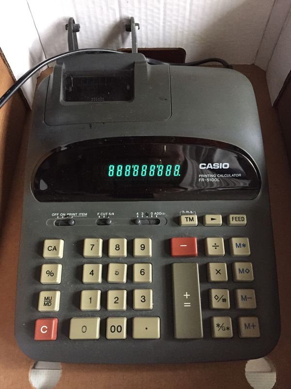 Casio Printing Calculator RF 5100