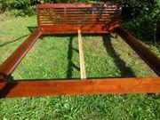 Kirsche Echtholz Doppelbett vom Feinsten
