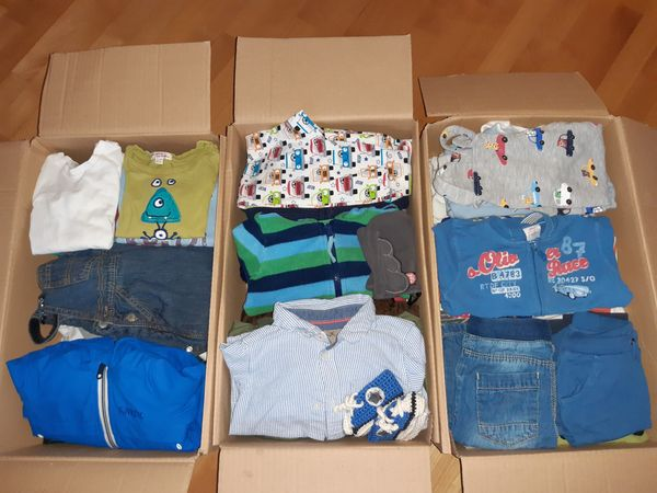 Jungen Kleidung von gr 56-80