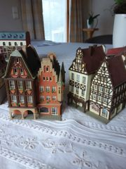 N-Spur Modelleisenbahn-Teile 14 Häuser Kirche