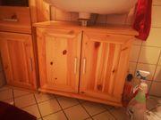 ZU VERSCHENKEN Badschrank und Waschbeckenunterschrank