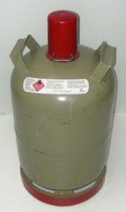 Propan Gasflasche 11 kg grau