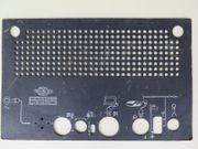 Mikrofona Rückwand für Röhrenradio 45