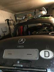 Oldtimer Mercedes Ponton 180