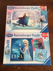 2 Eiskönigin Puzzel Originalverpackt