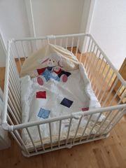 Baby Laufstall aus Holz