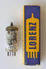 Röhre ECC 808 in ungebrauchtem