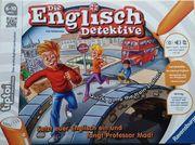 Tiptoi Spiel Englisch-Detektive wie neu