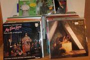 ca 200 LP- Schallplatten Klassik-Musical-Schlager-Oper