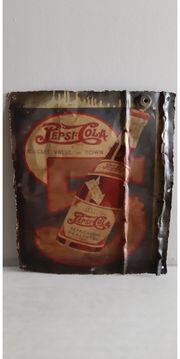 UNIKAT Blechschild Pepsi Cola