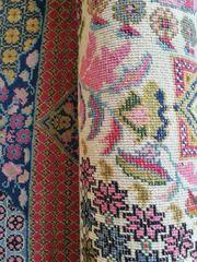 tunesischer Teppich - vermutlich handgeknüpft