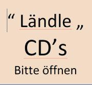 Versch Ländle CD s EUR