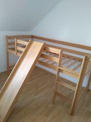 Bett - Kinderbett - Hochbett Spielebett mit