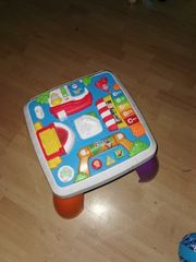 Fisher-Price Lernspaß Spieltisch Baby-Spielzeug Lernspielzeug