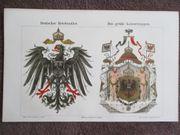 50 verschiedene Lithographien Jg 1895