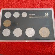 DDR Kursmünzensatz Gelehrte 1985
