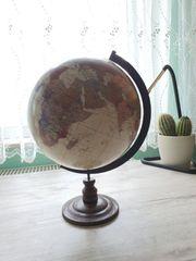 Nostalgischer rotierender Globus Weltkugel dekorativ