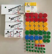 Haftmagnete Magnete in verschiedenen Farben