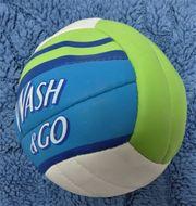 Fußball Wash Go - weiß-grün-türkis - mit