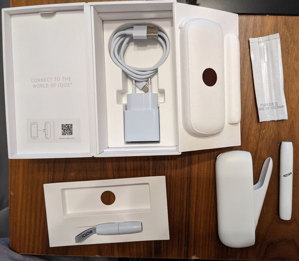 IQOS 3 Duo -weiss-