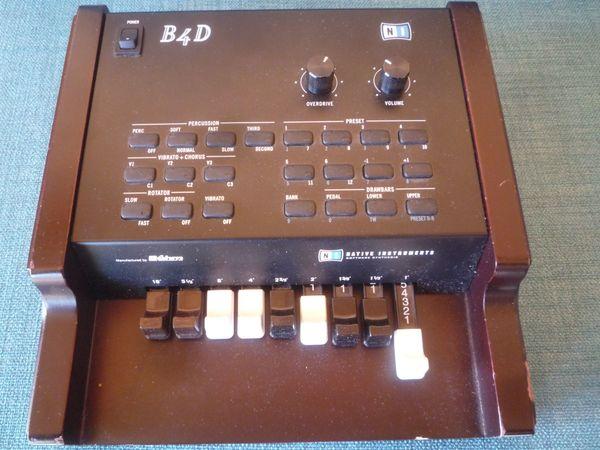 Zugriegel Controller für Hammond Orgel