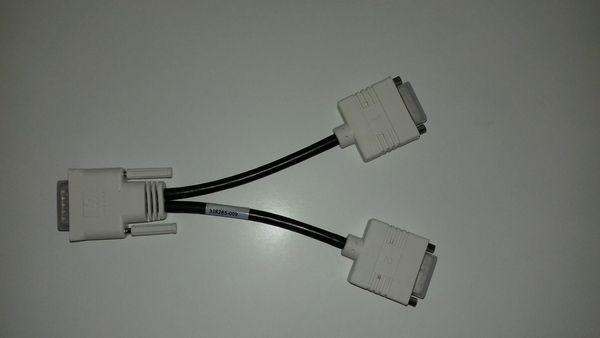 DMS-59 DVI Dual-Head Connector Cable