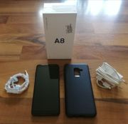 SAMSUNG A530F Galaxy A8 schwarz