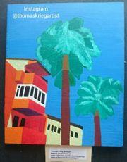 La Palma Bild Gemaelde Painting