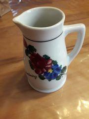 Vase Handbemalt