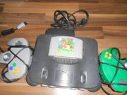 gut erhaltener Nintendo 64 mit