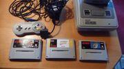 super Nintendo Spielkonsole