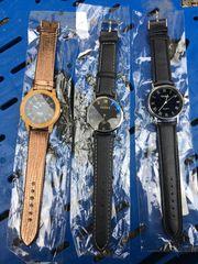 3x neue Armbanduhren für Herren
