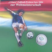 2 Euro Münz Proben
