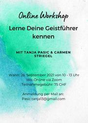 Online Workshop Geistführer Schutzengel