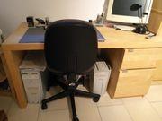 Büromöbel - Set Buche Nachbildung