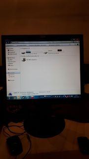 Komplett PC mit Monitor und