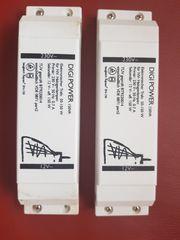 2 Digi-Power Trafos für Halogenleuchten