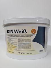 Innenfarbe Malerfarbe DIN Weiß Wand-